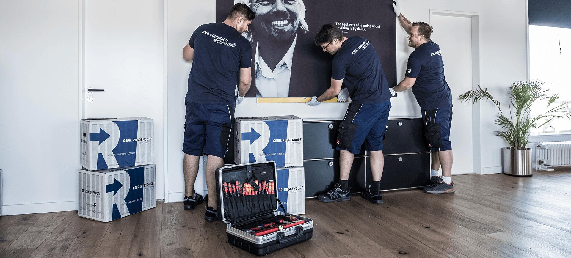 roggendorf umzug service dienstleistungen montageservice