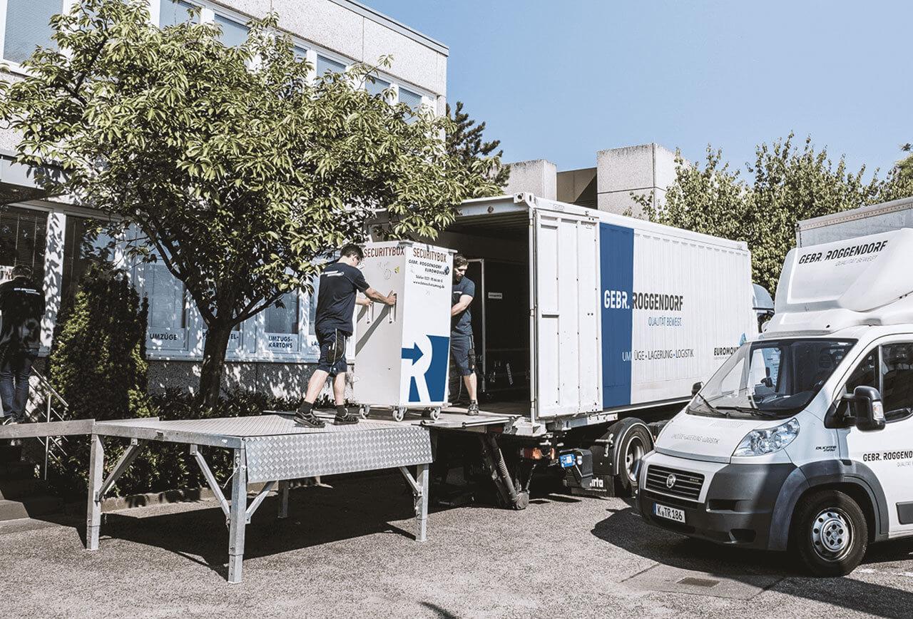 Datenschutztransport Roggendorf