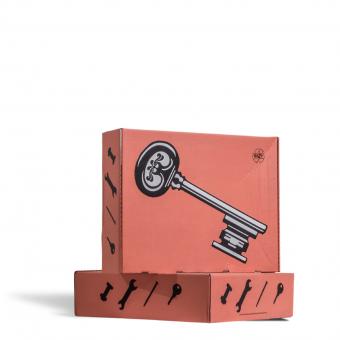 Packmittelfür den Umzug: Schlüsselkiste