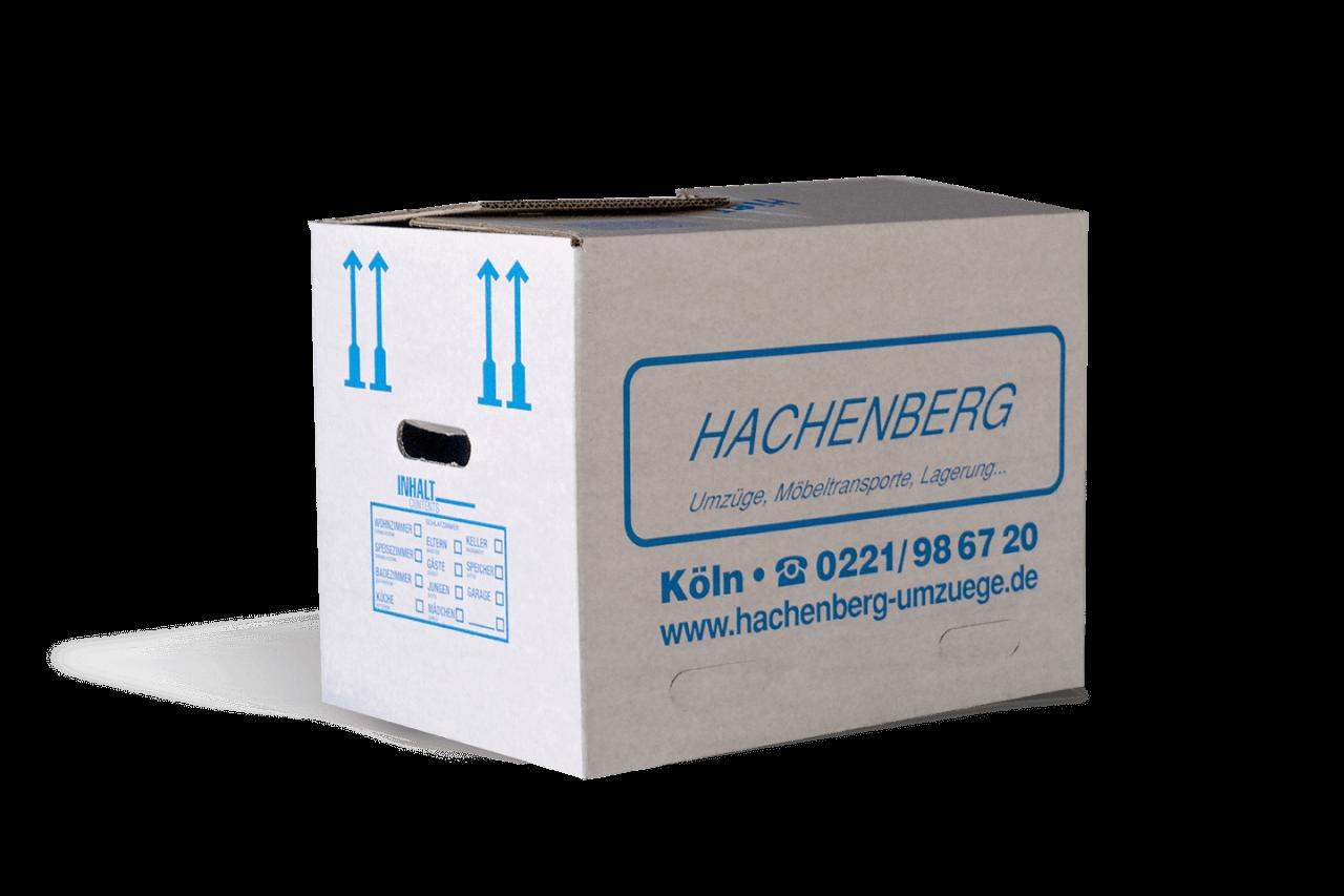 Ein Umzugskarton von Hachenberg